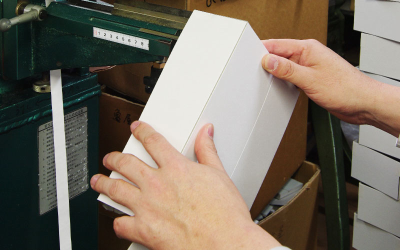 貼箱の制作工程4