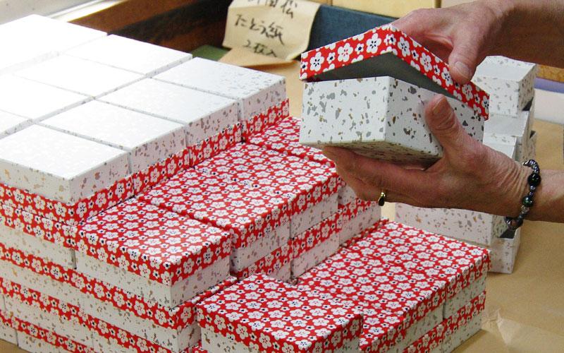 貼箱の制作工程6